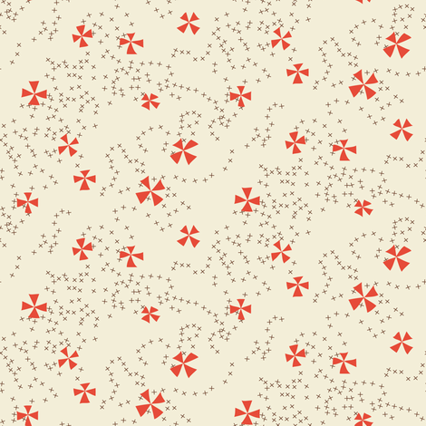 flying pinwheels fabric by darcibeth on Spoonflower - custom fabric