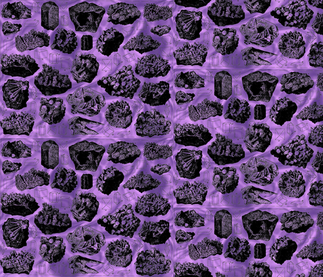 plate6purple fabric by craftyscientists on Spoonflower - custom fabric