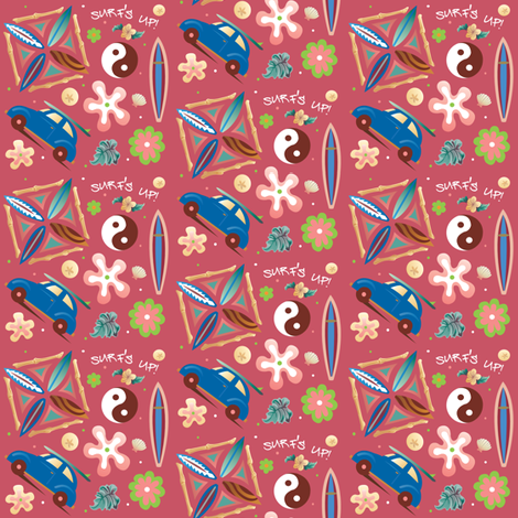 Surf's up! fabric by julistyle on Spoonflower - custom fabric