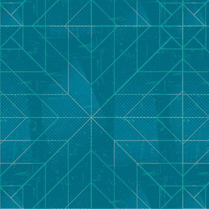 Geometric Teal