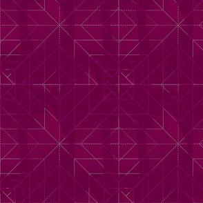 Geometric Magenta