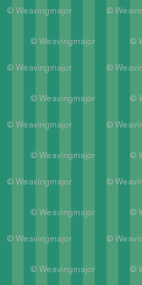 narrow stripes in teal and green