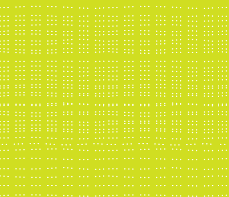 Yellow Dotty fabric by jenflorentine on Spoonflower - custom fabric