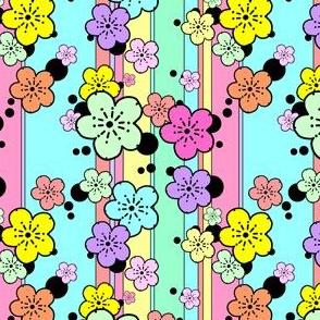 Pastel Sakura Stripe
