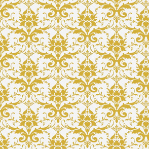 PURRFECT WHITE DAMASK