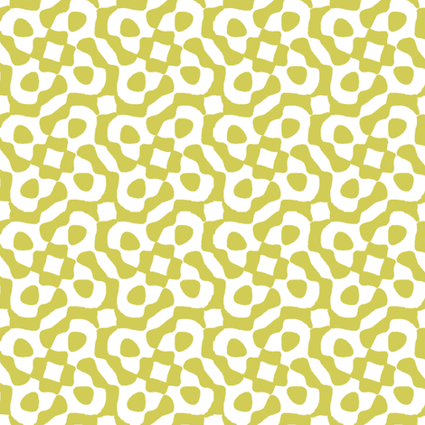 windy city in old gold fabric by weavingmajor on Spoonflower - custom fabric