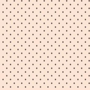 Brown dots for cute axolotls