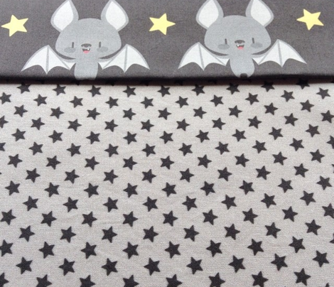Tiny stars for cute baby bats