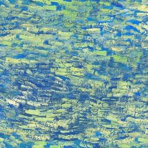 an endless Van Gogh sky
