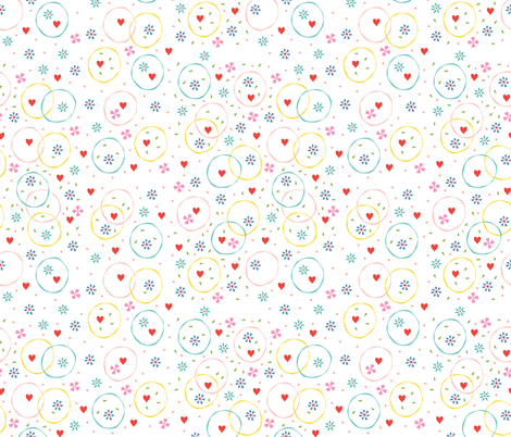 Spring Fever fabric by kiraseiler on Spoonflower - custom fabric