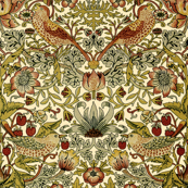 William Morris ~ Strawberry Thief ~ Trianon Cream