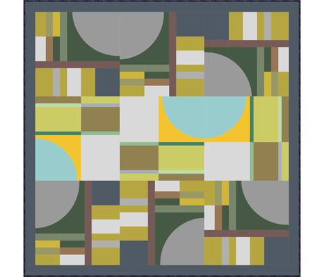 Urchin Beach  fabric by helenrichardsquilts on Spoonflower - custom fabric