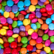 Smarties Chocolate Repeating Pattern Small - Candy