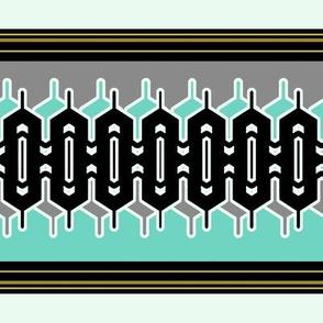 Modern Geometric Stripe