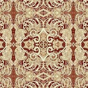 Caramel Twisted Lace