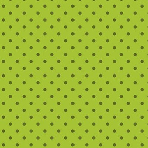 Green dots for volcanosaurus