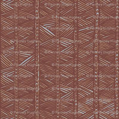 Ghana Panel in Brown