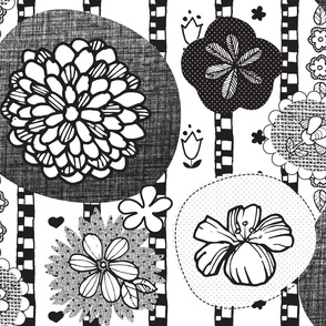 Hungarian Folk Art Floral