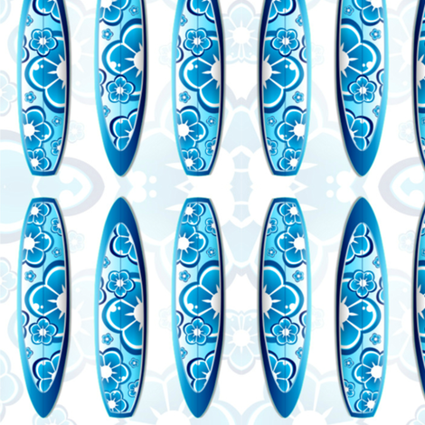 SURFING BLUES fabric by bluevelvet on Spoonflower - custom fabric