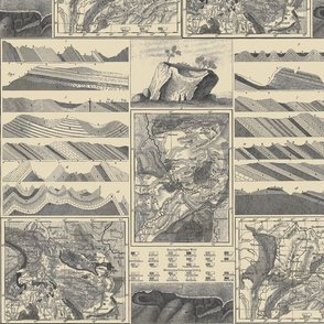 Heck's 1857 landforms beige