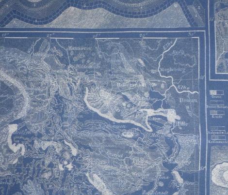 Heck's 1857 landforms blue