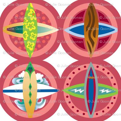 Surfboard-medallions