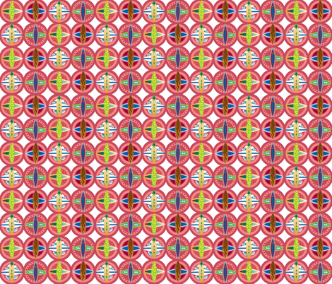 Surfboard-medallions fabric by julistyle on Spoonflower - custom fabric