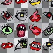 Rmouths_and_eyes_half_fat_quarter_greys_shop_thumb