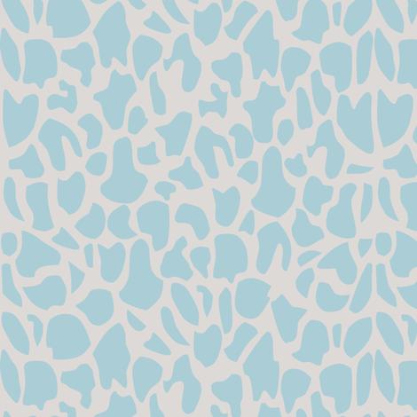 Qartheen blue fabric by detenten on Spoonflower - custom fabric