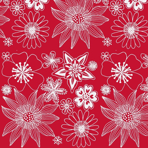 wallpaper red and white