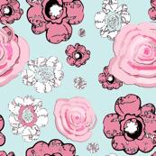 Flowered Bell Bottoms