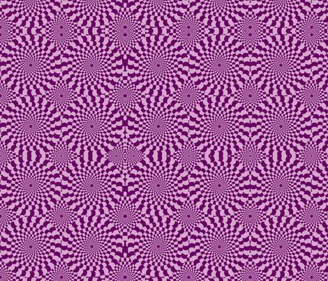 plum crazy fabric by seedtosalad on Spoonflower - custom fabric