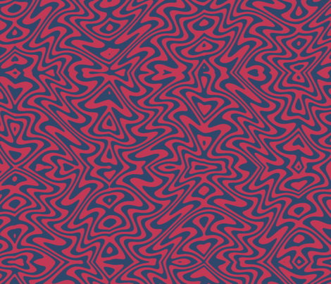 butterfly swirl in red and blue fabric by weavingmajor on Spoonflower - custom fabric