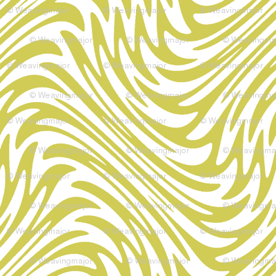 feather swirl in old gold