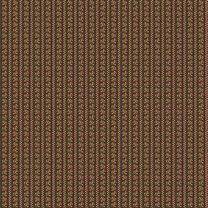 Tiny flower stripes calico