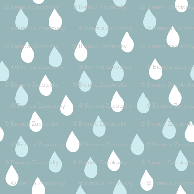 Raindrops Dusk (April)