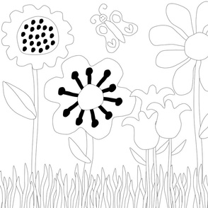 Floral_Coloring_Book_1