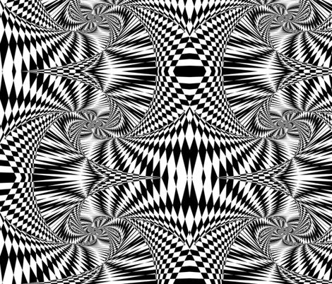 psychchedelic world fabric by cynetik on Spoonflower - custom fabric