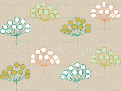 Folklore Floral blue version