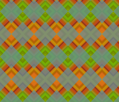 variegated_ZIGZAG_orange fabric by mammajamma on Spoonflower - custom fabric