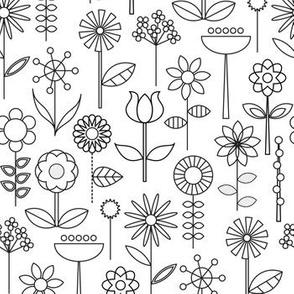 Mod Doodle Blooms