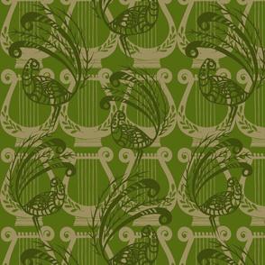Lyrebirds in Forest