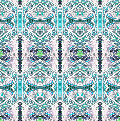 Edwardian Geometry fabric by edsel2084 on Spoonflower - custom fabric