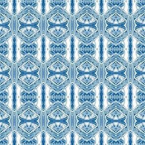 Victorian Times (blue/white)