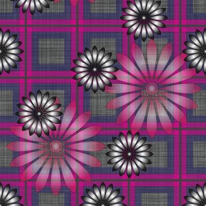 Flower_Pink_Plaid