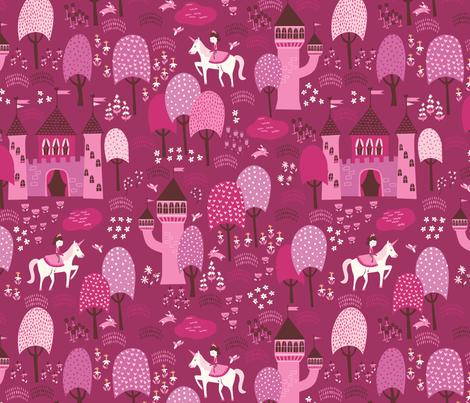 Enchanted_Forest fabric by stacyiesthsu on Spoonflower - custom fabric