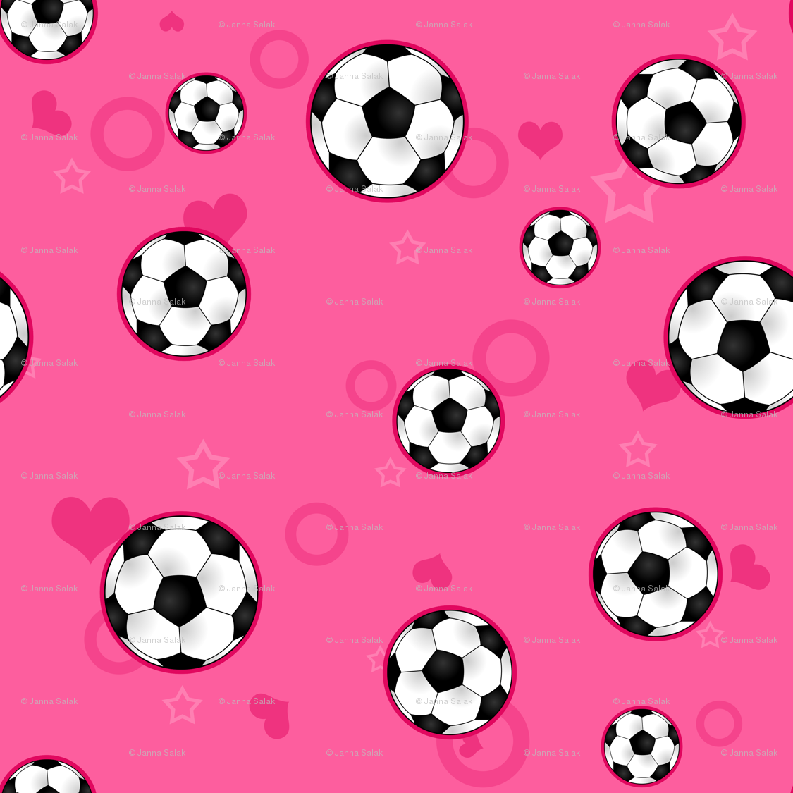 Soccer ball pattern wallpaper - newmomdesigns - Spoonflower