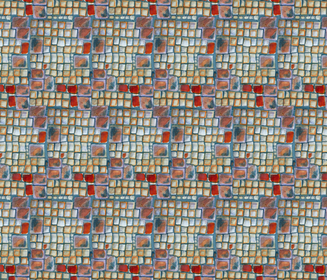 Blocks fabric by linsart on Spoonflower - custom fabric