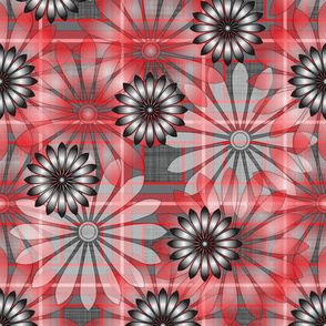 LG_Red_Flower_Plaid_Linen