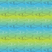 Sharks! Gradient Sea - Small